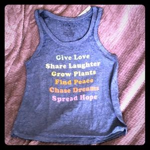 Give Love Tank Top, various sizes